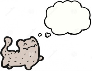 happy-cartoon-cat-thought-bubble-22289148